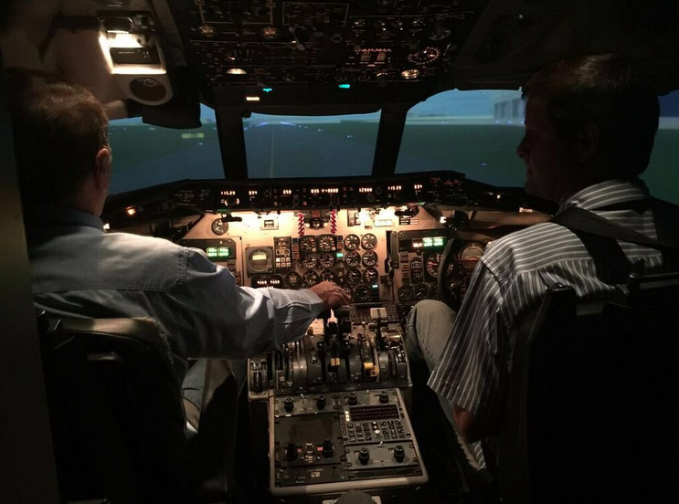 MD82 Simulator Experience 3
