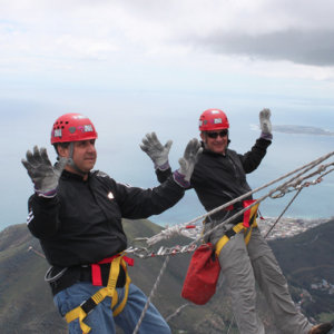 Abseiling Table Mountain Experience