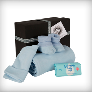Baby Basics blue Box