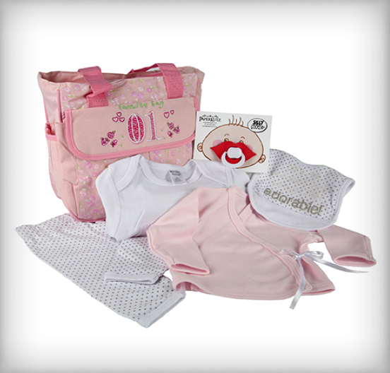 Baby Travelling Bag Pink