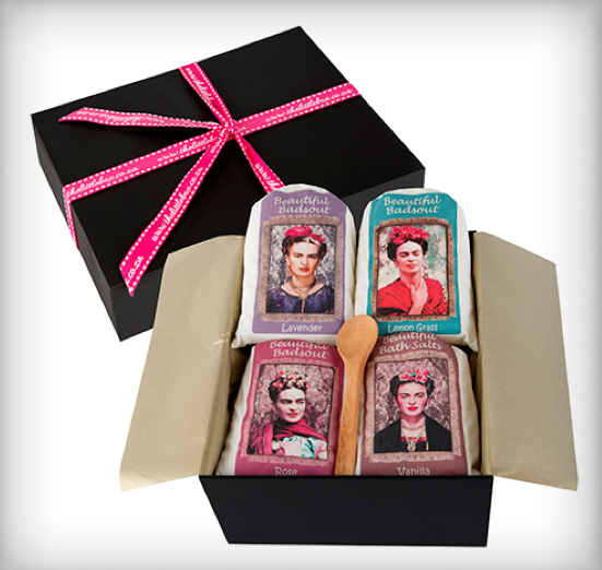 Beautiful Bath Salts Gift Box